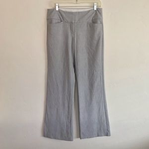 Express Gray Editor Fit Dress Pants Size 6 Regular